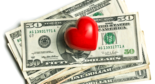 relationship and debt problems